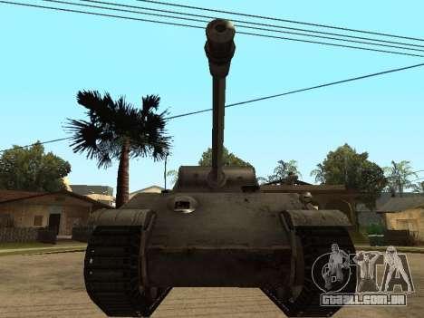Pzkfpw V Panther para GTA San Andreas esquerda vista