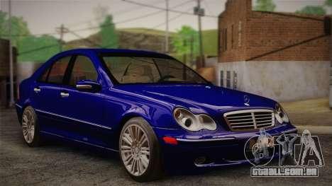 Mercedes-Benz C320 Elegance 2004 para GTA San Andreas
