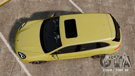 Porsche Cayenne 2012 SR para GTA 4 vista direita