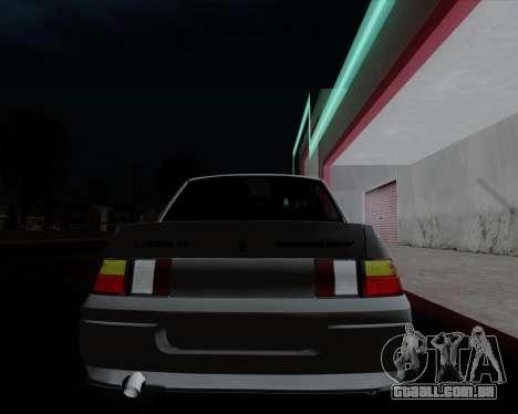 VAZ 2110 para o motor de GTA San Andreas