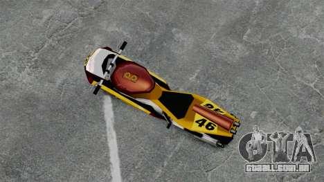 NRG500 para GTA 4 traseira esquerda vista