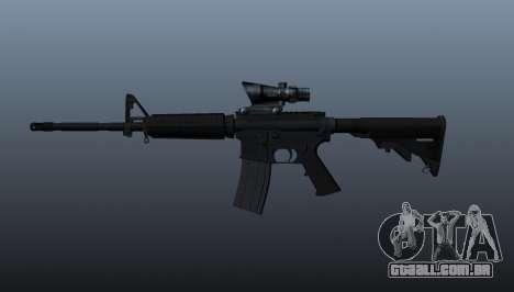Automáticos carabina M4 para GTA 4 terceira tela