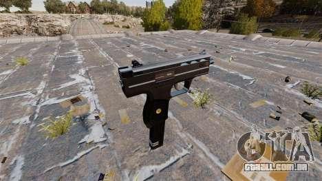 Pistola-metralhadora UZI HK para GTA 4 segundo screenshot