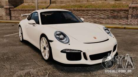 Porsche 911 GT3 (991) 2013 para GTA 4