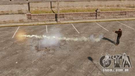 Foguetes de tiros para GTA 4