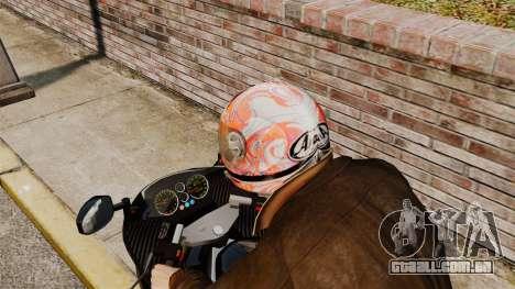 Uma coleção de capacetes Arai v1 para GTA 4 por diante tela