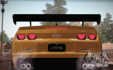 Chevrolet Camaro ZL1 para as rodas de GTA San Andreas