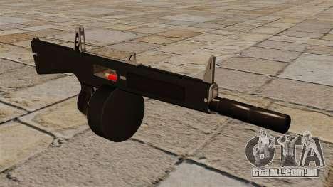 O AA-12 shotgun com silenciador para GTA 4