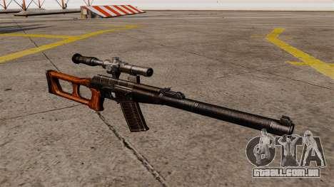 Fuzil de precisão VSS Vintorez para GTA 4