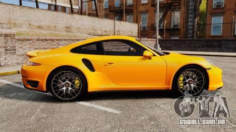Porsche 911 Turbo 2014 [EPM] para GTA 4 esquerda vista
