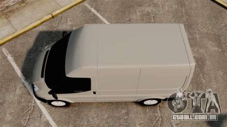 Ford Transit 2013 para GTA 4 vista direita