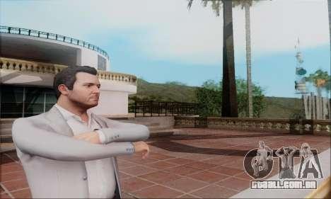 Trevor, Michael, Franklin para GTA San Andreas terceira tela
