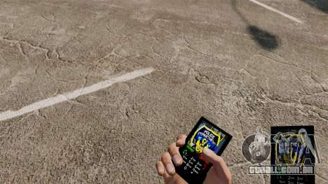 Tema LCPD para seu telefone para GTA 4