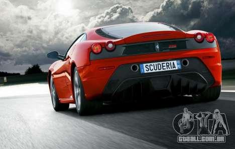 Som de um motor de Ferrari para GTA 4 por diante tela