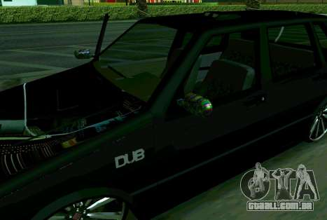 Fiat Uno 2010 Clase 4 para GTA San Andreas traseira esquerda vista