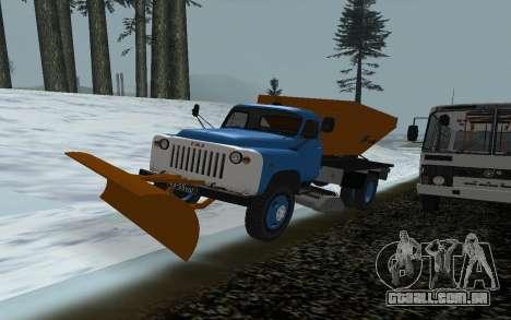 Ventilador de neve de gás 53 para GTA San Andreas