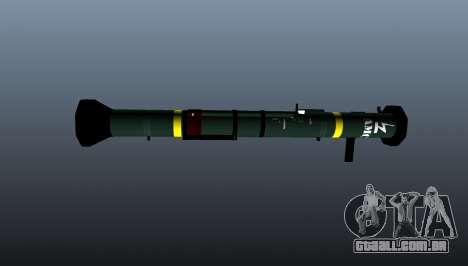 Lançador de granadas anti-tanque AT4 CS HP para GTA 4 terceira tela