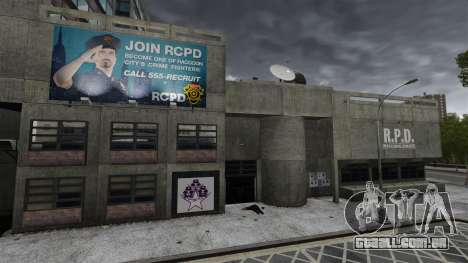 Delegacia de polícia de Raccoon para GTA 4