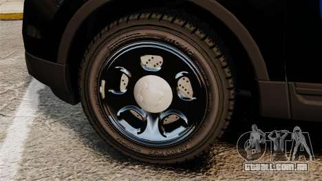 Ford Explorer 2013 Utility - Slicktop [ELS] para GTA 4 vista de volta