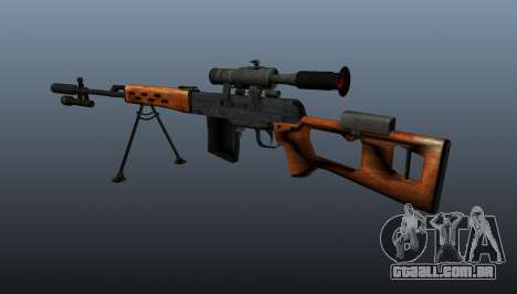 Dragunov sniper rifle A & K para GTA 4 segundo screenshot