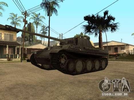 Pzkfpw V Panther para GTA San Andreas