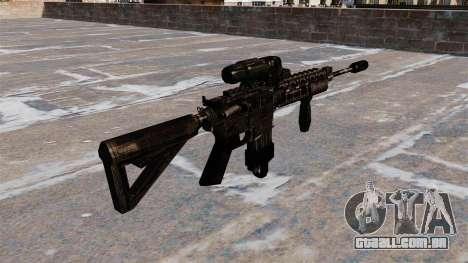 Carabina M4 automática híbrido escopo para GTA 4 segundo screenshot