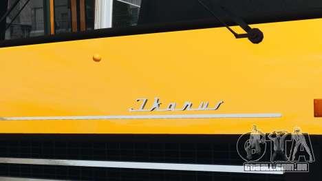 Ikarus 260 para GTA 4 traseira esquerda vista