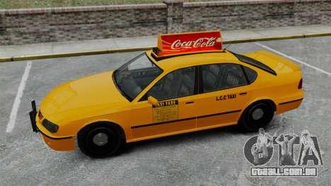 Real publicidade em táxis e autocarros para GTA 4