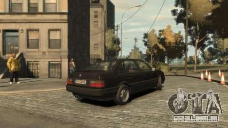 Volkswagen Passat B3 para GTA 4 vista direita