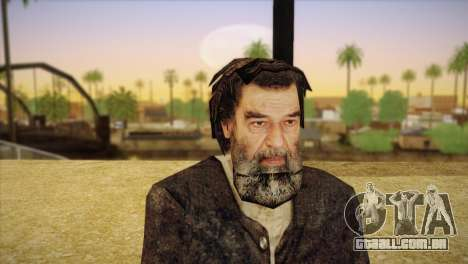Saddam Hussein para GTA San Andreas terceira tela
