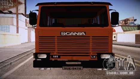 Scania LK 141 6x2 para GTA San Andreas esquerda vista