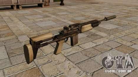 M14 rifle com silenciador para GTA 4 segundo screenshot