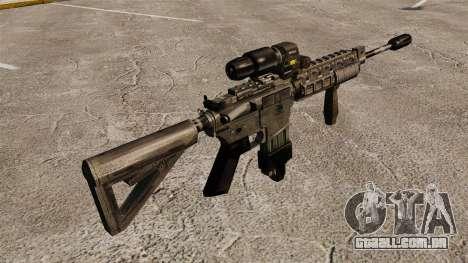 M4 Escopo de híbrido de carabina para GTA 4 segundo screenshot