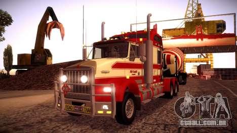 Kenworth RoadTrain T800 para GTA San Andreas