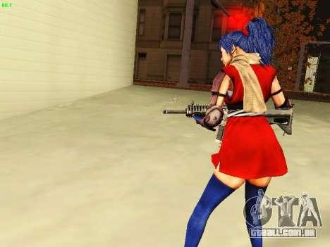 Juliet Starling para GTA San Andreas por diante tela