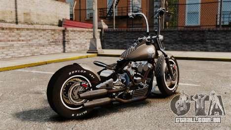 Harley-Davidson Knucklehead v2 para GTA 4 esquerda vista