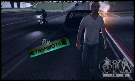 Trevor, Michael, Franklin para GTA San Andreas sétima tela