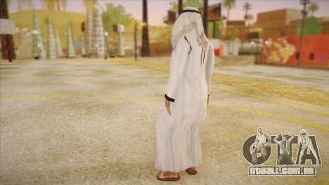 Sheikh árabe para GTA San Andreas segunda tela