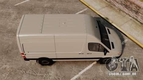 Mercedes-Benz Sprinter 2500 Delivery Van 2011 para GTA 4 vista direita