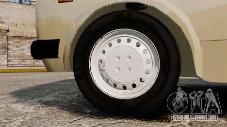 Zastava Yugo 128 para GTA 4 vista de volta