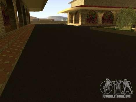 V 1.0 de Las Venturas de estação ferroviária para GTA San Andreas por diante tela