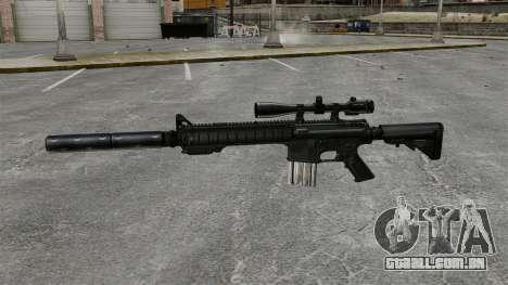 O rifle sniper SR-25 para GTA 4 terceira tela