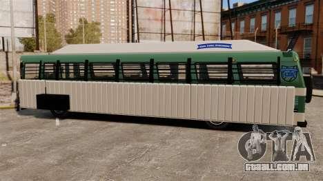 Barramento blindado para GTA 4 vista direita