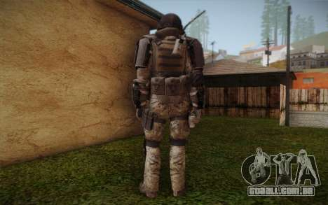 COD MW3 Heavy Commando para GTA San Andreas terceira tela