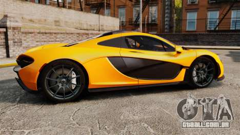 McLaren P1 2014 [EPM] para GTA 4 esquerda vista