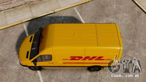Mercedes-Benz Sprinter 2500 Delivery Van 2011 para GTA 4 vista direita