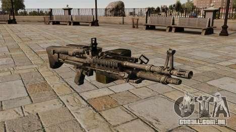 Metralhadora M60 propósito geral para GTA 4