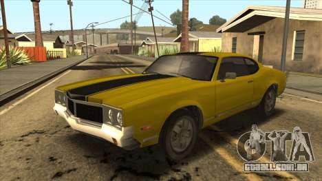 Sabre HD from GTA 3 para GTA San Andreas