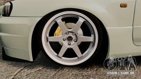 Nissan Skyline GT-R V-Spec II Mk.X [R34] para GTA 4 vista de volta