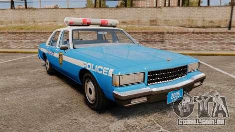 Chevrolet Caprice 1987 LCPD para GTA 4